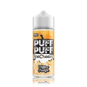 Puff Puff Ice Cream Toffee Fudge
