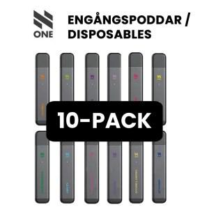 N One Engångspoddar 10-pack