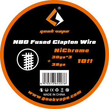 GeekVape N80 Fused Clapton Wire