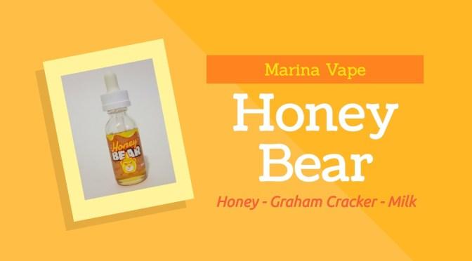 E-juice Review: Honey Bear From Marina Vape