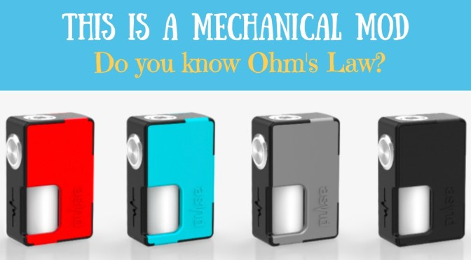 The Pulse BF Squonk Mod and Mech Mod Safety