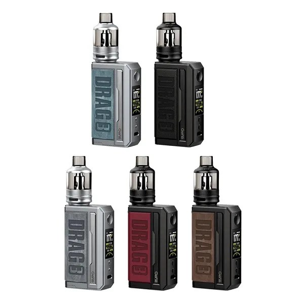 Voopoo Drag 3 177W Starter Kit with 5.5ml TPP Tank - Classic