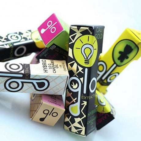 glo extract cannabis carts