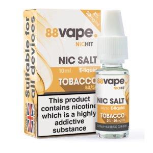 88 Vape Tobacco Nicotine Salt Eliquid Bottle With Box