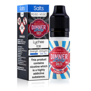 Lychee Ice 10ml Nicotine Salt Eliquid By Dinner Lady Salts