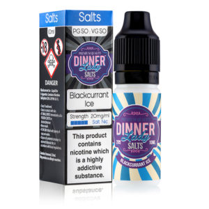Blackcurrant Ice Nic Salts 50:50 10ml E-Liquid