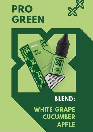 NEXUS PRO GREEN 10ML NICOTINE SALT