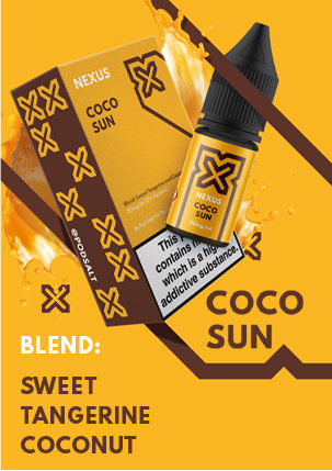 NEXUS COCO SUN 10ML NICOTINE SALT