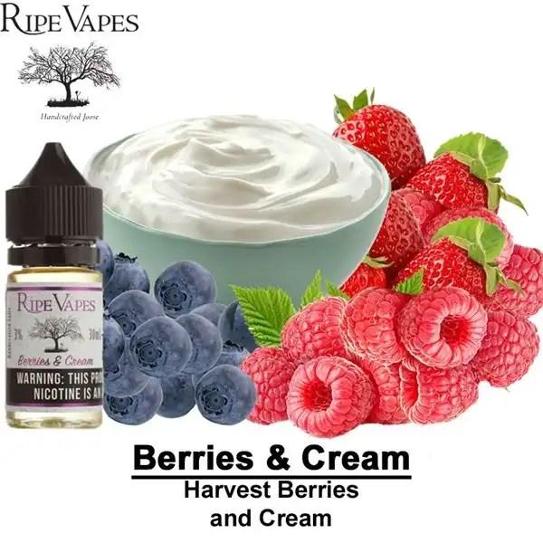 Berries and Cream by Ripe Vape