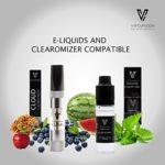 Vape ENVOD V2 | Kit de démarrage de cigarette électronique | E Cigarette | Batterie rechargeable Micro USB | E Shisha | Vaping Premium