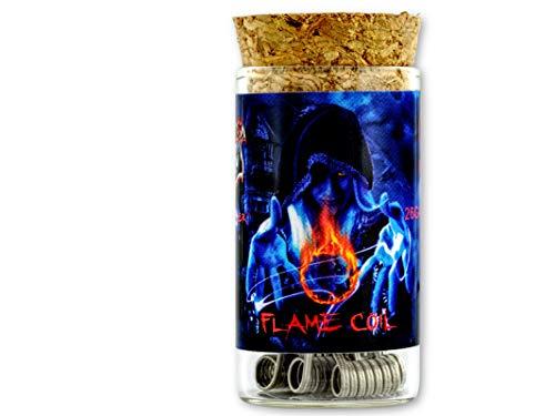 Demon Killer Flame Coil Ni80 SS316L Fil de fer pré-compilé pour RDA/RBA/RTA/RDTA en acier inoxydable chromé
