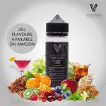 Vapoursson 100ml Double menthe 0mg E-liquide   Bouteilles Shortfill sans nicotine   50/50 PG/VG – Forte saveurs réelles   Eliquide Pour E-shisha et E-cigarettes
