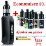 65W Cigarettes électroniques Kit Complet [3 pièces] Resistance GT0,3 / GT0,6 oHm Coils. HD Écran OLED, sans Liquide sans Nicotine – AOKEY GT65 BOX MOD