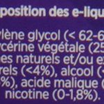 eGo-Cigarette eLiquide eGo-Juice Coup de Bol sans Nicotine