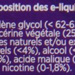 eGo-Cigarette eLiquide eGo-Juice Malbarré sans Nicotine