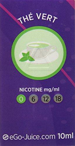 eGo-Cigarette eLiquide eGo-Juice Thé sans Nicotine