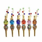Jewelry Hookah Mouth Tips Shisha Filter Tip luminous Hookah Mouthpiece colorful metal Jewelry Mouth Tips