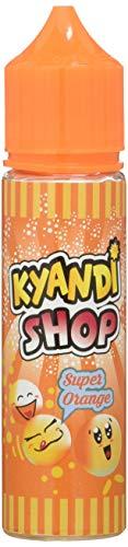 KYANDI SHOP E-Liquide pour Cigarette Électronique 50 ml Super Orange sans Nicotine Ni Tabac