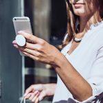VAPE NAYSH Meme – Red Box Logo – Funny Vape Gift PopSockets Support et Grip pour Smartphones et Tablettes