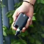 Kit Vaporesso SWAG 2 d'origine avec boîte TC 80w Mod 3.5 ml NRG PE TANK GT4 bobine de maille Cigarette électronique Vape Silver