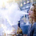 YONGCHY Mini narguilé Chicha, Shisha de Protection de l'environnement en Gel de silice, substitut de Tabac sans Nicotine,C