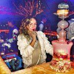 YONGCHY Narguilé Shisha LED, avec 2 tuyaux, Environ 53 cm Ensemble d'accessoires Complet pour boîte de Nuit