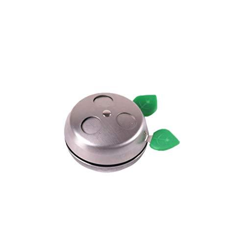 YTG Narguilé Charbon Titulaire Provost système de Gestion Thermique en Acier Inoxydable Shisha Bol for Narguilé Bols Shisha Accessoires Chicha NAR (Color : Silver)