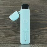 ORIN Uwell Caliburn G – Coque en silicone texturé pour Uwell Caliburn G – Housse antidérapante – Skin autocollant (BlueGlow)