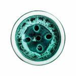 ORACLE HOOKAH® Tête de narguilé – En argile de qualité supérieure – Pour narguilé et narguilé (vert foncé)