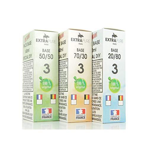 Pack Base 140ml 03mg Extrapure – 3 mg, PG/VG 50/50