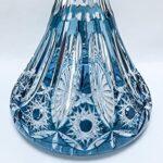 Caesar Crystal Bohemiae Verre à chicha Lotos 2 couleurs différentes (Azure)