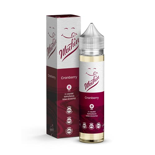 CRANBERRY 50ml – Savourea – Machin – Sans Tabac – Sans Nicotine