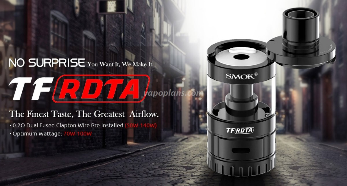 Atomiseur Smok TF-RDTA - 19,20€ fdp in
