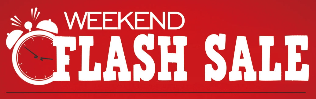 Weekend ventes flash chez 3FVape !