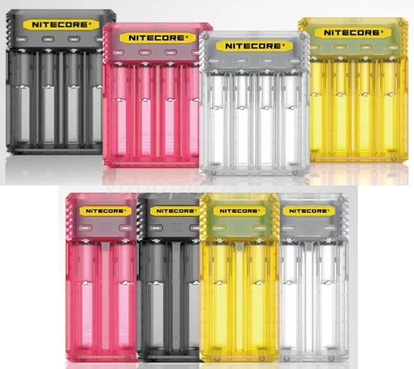 Chargeurs Nitecore Q2 / Q4 - 11,40€ / 19€ fdp in