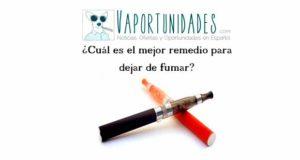 ¿Cuál es el mejor remedio para dejar de fumar?