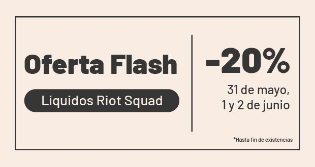 Riot Squad - Oferta Flash