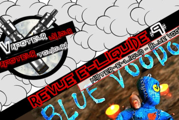 Revue E-Liquide – Blue Voodoo de Mister-E-Liquid – USA – #9