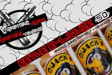 """E- נוזלי סקירה - Gizzard מיץ על ידי מפעל מיץ של Quack - ארה""""ב - #50"""