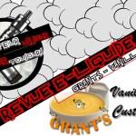 Revue E-Liquide – Vanilla Custard de Grants –  #5