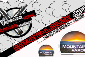 E-Liquid Review - Mountain Vapor - Part 1 - USA - #37a