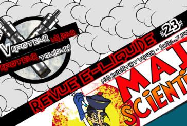 Revue E-Liquide – Swirly Pop de Mad Scientist Vapor – USA – #23