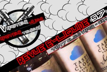 E-Liquid Review - Tasty Cloud Vape Co Range - USA - #57