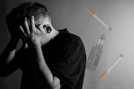 FILE: Falling for a cigarette, it can happen, the important thing is to re-vape!