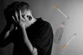 BESTAND: Vallen voor een sigaret, het kan gebeuren, het belangrijkste is om opnieuw te verdampen!