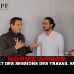 NORME AFNOR : En direct des sessions de travail sur l'e-cig