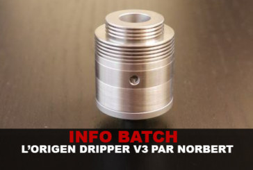 BATCH INFO: The Origen Dripper V3 di Norbert