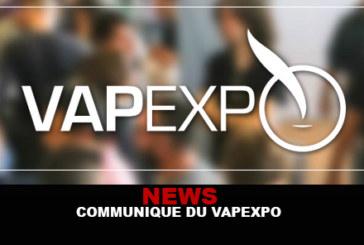 NEWS : Communiqué du Vapexpo !