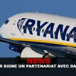 NEWS : Ryanair signe un partenariat avec Dansmoke