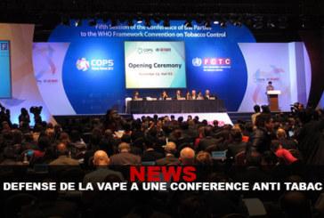חדשות: הגנה vape יש ועידה נגד עישון!
